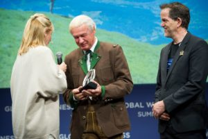 "Balthasar Hauser - ""Leader in Sustainability"" Award"
