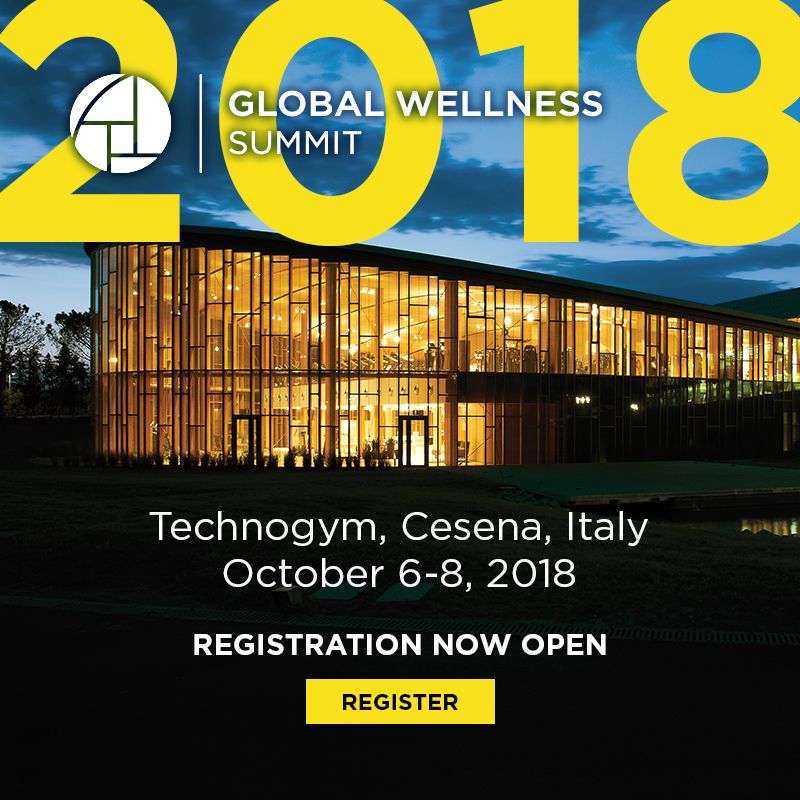 Global Wellness Summit Opens 2018 Registration Today | Global