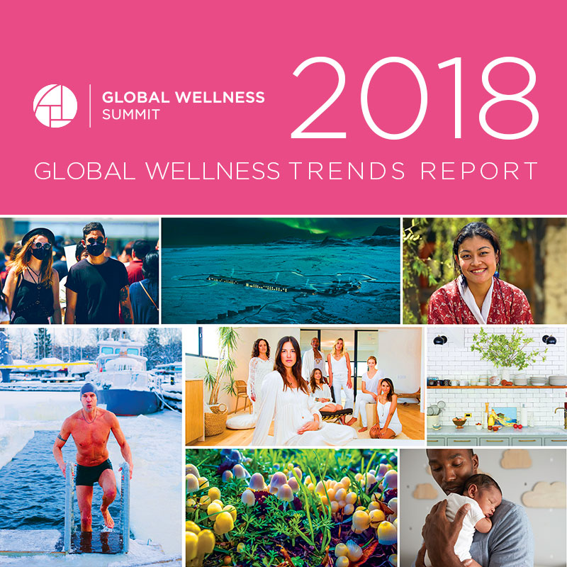 Global Wellness Summit Releases 'Eight Wellness Trends for 2018'