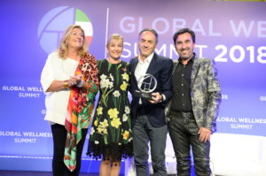 2018 Leader in Innovation Global Wellness Award
