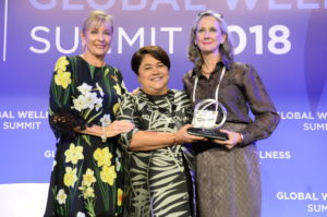 2018 Leading Woman in Wellness Global Wellness Award
