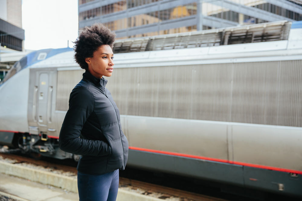 1926cf0fbf8 Ministry of Supply uses tech to make clothes smarter and more comfortable.  Their smart jacket is activated by a phone app and adjusts the temperature  based ...