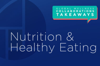 Nutrition & Healthy Eating: Insights on Reopening, Resetting, Reimaging